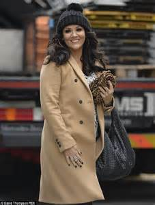 Woven Leather Chair Martine Mccutcheon Appears On This Morning To Give Her Top