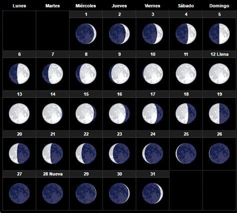 Calendario Lunar Marzo 2018 El Calendario Lunar Julio 2017 Fases De La Para Dar