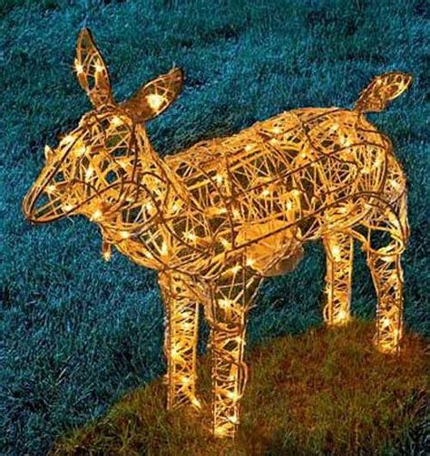 rope lighted christmas deer 3d illuminated feeding reindeer lights rope lights hangzhou new asia