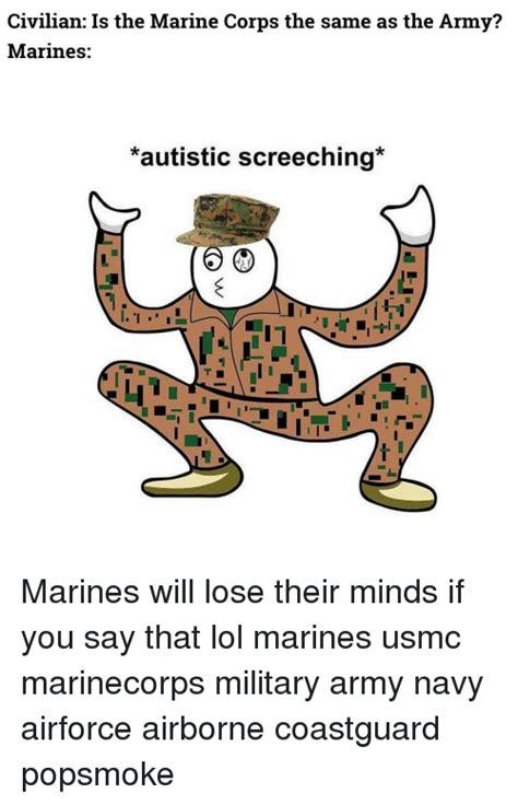 civilian   marine corps     army marines