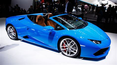 2017 lamborghini huracan spyder from coupe to