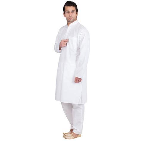 mens kurta pattern drafting kurtas for men in india cotton fabric solid white