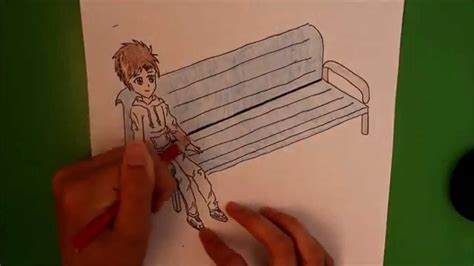 how to draw people sitting on a bench how i draw a boy sitting on a bench youtube