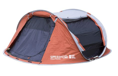 epe speedy 3 person 2 second polycotton pop up tent