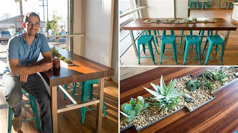 The Community Table by Up And Smell The Succulents Building A Living Table