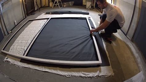 covering home theater walls  acoustically transparent