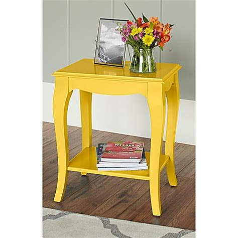 bed bath and beyond helena mt buy chatham house helena side table in yellow from bed