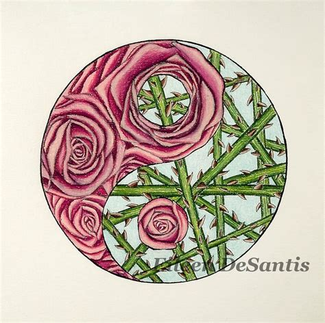yin yang rose tattoo 17 best images about eileen desantis etsy shop items on