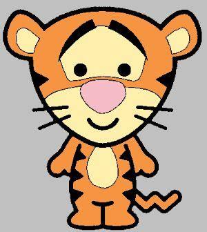 imagenes de tigres kawaii tiger chaveiro turma do pooh feltro diversos