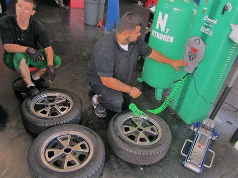 Tires Filled With Nitrogen Vs Air Green Balance Electroclassic Ev