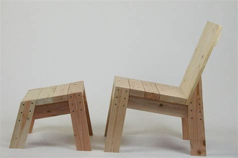 2x4 couch chair and foot stool from 2x4 s id 233 es pinterest