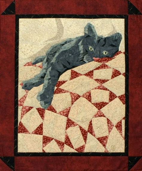 free printable cat quilt patterns 1910 best images about cat quilts on pinterest calico