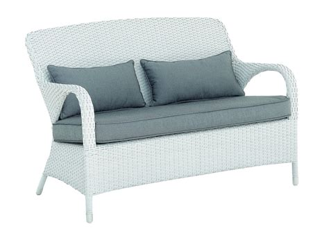 divano rattan bianco divano outdoor bianco rattan sintetico mobili provenzali