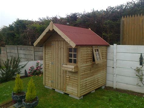 8 Foot By 6 Foot Shed by Wood Sheds Playhouses Cork Limerick