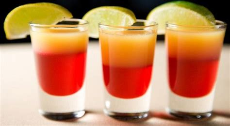 layered rainbow shots how to make layered jelly shots drinks pinterest