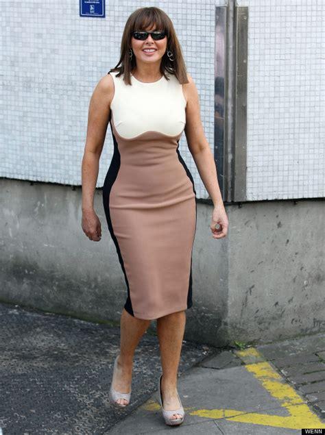 Caroll Dress carol vorderman rocks the optical illusion dress trend