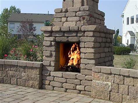 Reading Rock Fireplace by Bedford Pit 171 Patio Supply Outdoor Living