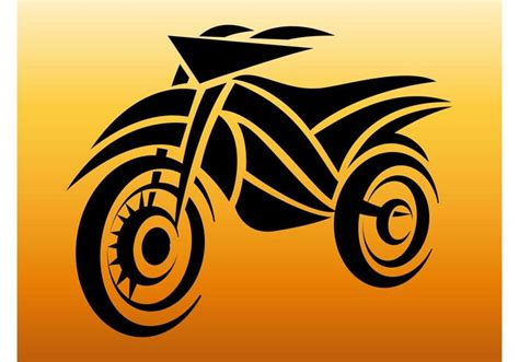 motorcycle tattoo download free vector art stock