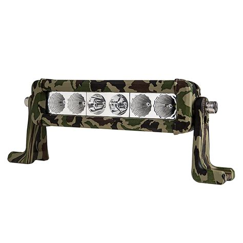 8 Quot Camo Off Road Led Light Bar W Spot Flood Combo Beam Camo And Lights