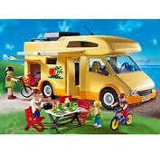 PLAYMOBIL  3647 Famille Avec Camping Car