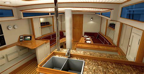 Cheap Floor Plans 62 sailboat interior daf renderings