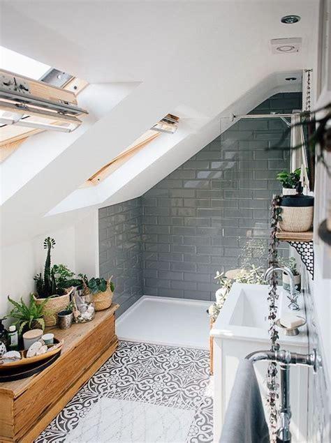 salles de bain sous comble salle de bains sous