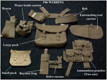 pattern 70 web gear irish great war society kit and equipment