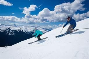 whistler ski board holidays travel canada travelco