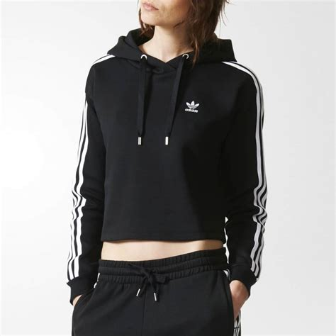 Jaket Typich Hodie Original adidas originals 3 stripes hoodie womens clothing from cooshti