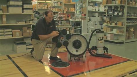 Bona FlexiSand DCS Buffer Floor Sanding Machine   YouTube