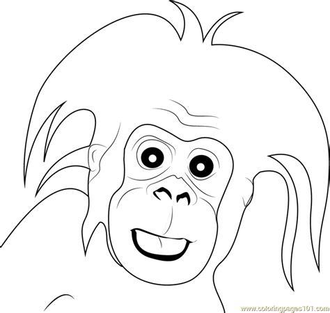 baby gorilla coloring page gorilla small baby coloring page free gorilla coloring