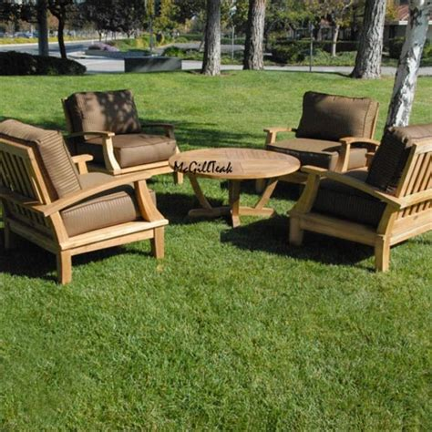 bali patio furniture 4 bali lounge chairs with new orlando coffee table