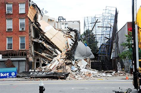myrtle ave building collapse looked bad  injuries