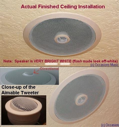 top of the line 8 inch ceiling speaker ceiling speakers