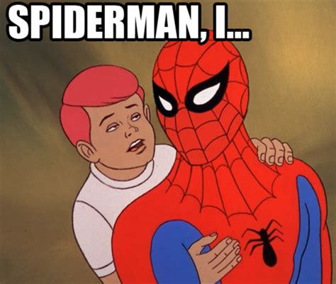 Spiderman Meme Face - image 207097 60s spider man know your meme