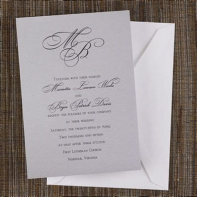 what monogram do you put on wedding invitations 20 best images about monogrammed wedding invitations on