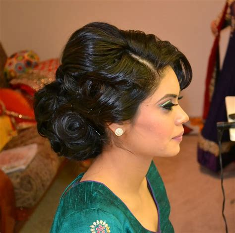 indian hairstyles updo 64 best images about hairstyles on pinterest bridal updo