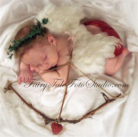 newborn valentines day sleeping 3 month baby cupid newborn with cupid