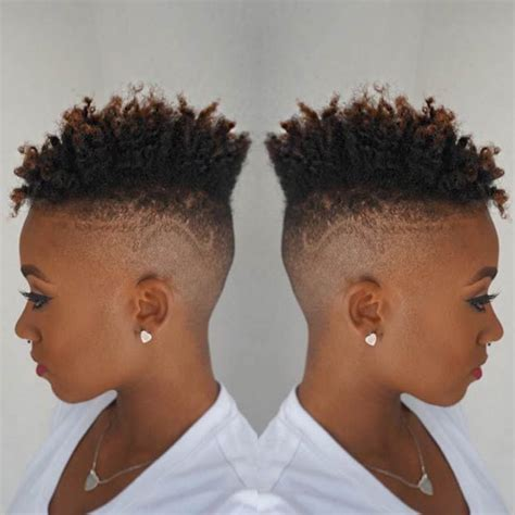 fade haircut for black women 31 best short natural hairstyles for black women fade