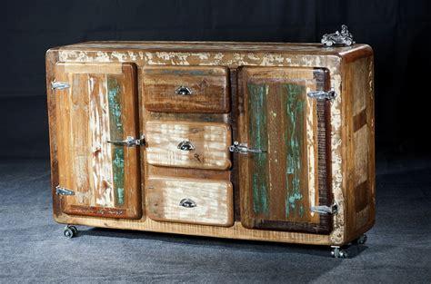 sideboard altholz sideboard anrichte kommode altholz bunt vintage recycelt