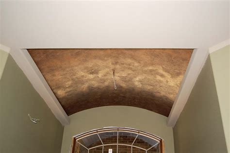 faux painted ceilings davis creative painting metallic ceiling faux