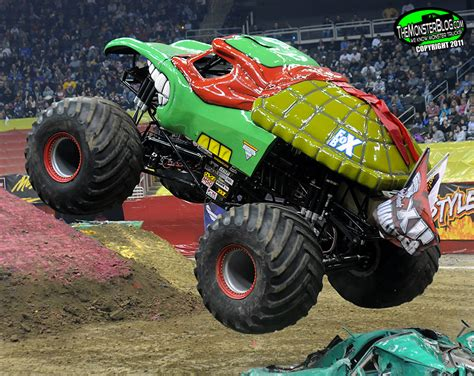 monster jam trucks names teenage mutant ninja turtle 187 international monster truck