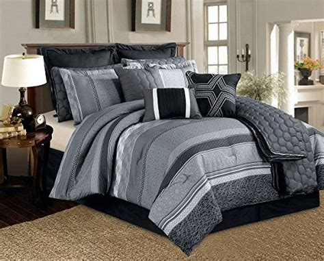 Black Silver Bedding Sets Black And Silver Bedding Sets Ease Bedding With Style