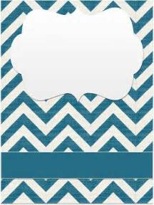 Chevron Binder Cover Templates binder covers chevrons scribd fonts clipart and