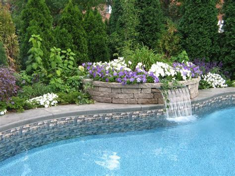 waterfalls for inground pools best 25 pool waterfall ideas on pinterest lagoon pool