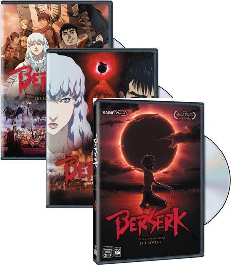 Anime Berserk Complete berserk the golden age arc 1 2 3 complete anime dvd bundle r1 ebay