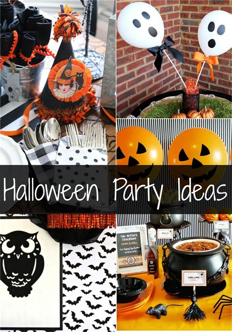 halloween party ideas halloween party ideas uncommon designs