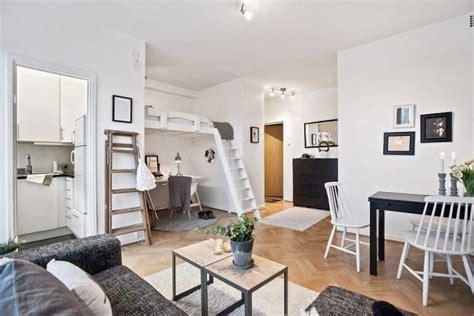 studio rooms space saving design in a 29 square meter gothenburg studio