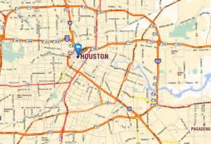 map usa houston houston map