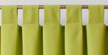 Tab Top Drapes A Guide To Styles Of Curtain Headings